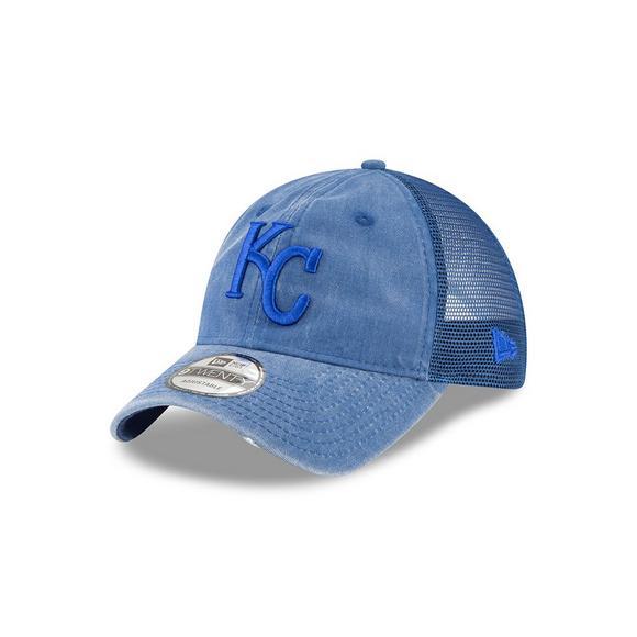 new concept 4afa3 34fa9 New Era Kansas City Royals 9TWENTY Tonal Washed Adjustable Hat - Main  Container Image 1