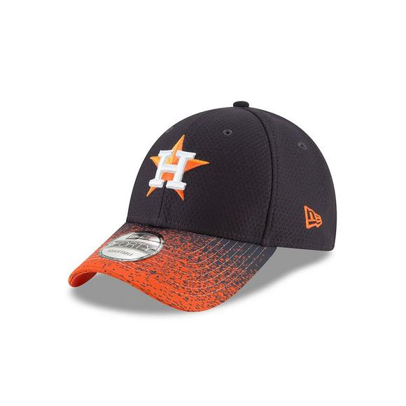 e2fe1aa7 New Era Houston Astros 9FORTY Visor Blur Adjustable Hat - Main Container  Image 1
