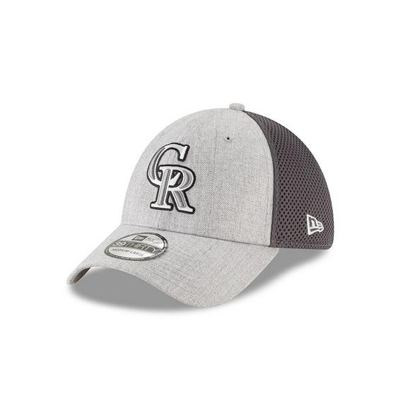 newest e455f b32f3 New Era Colorado Rockies 39THIRTY Neo Pop Adjustable Hat - Main Container  Image 1