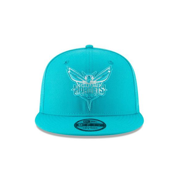 New Era Charlotte Hornets Faded Front 9FIFTY Snapback Hat - Main Container  Image 2 9a527f50ac2