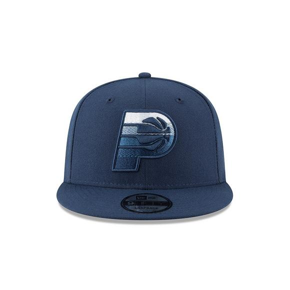 New Era Indiana Pacers Faded Front 9FIFTY Snapback Hat - Main Container  Image 2 63ff9cc3797