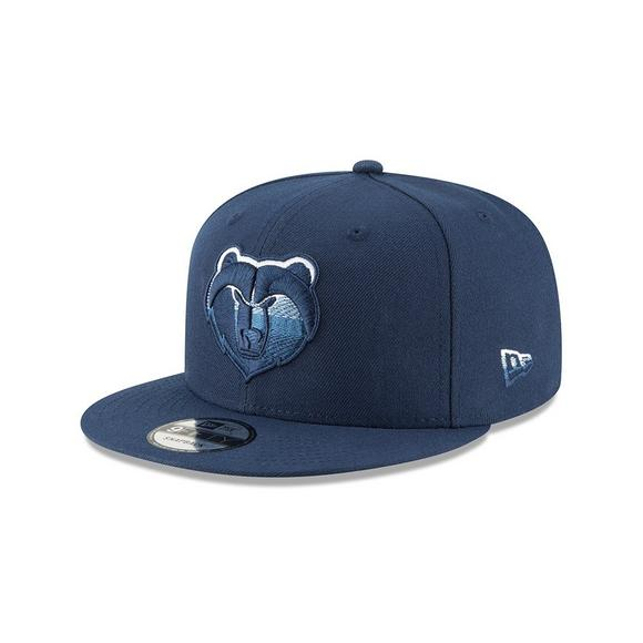 New Era Memphis Grizzlies Faded Front 9FIFTY Snapback Hat - Main Container  Image 1 97bd132221f5