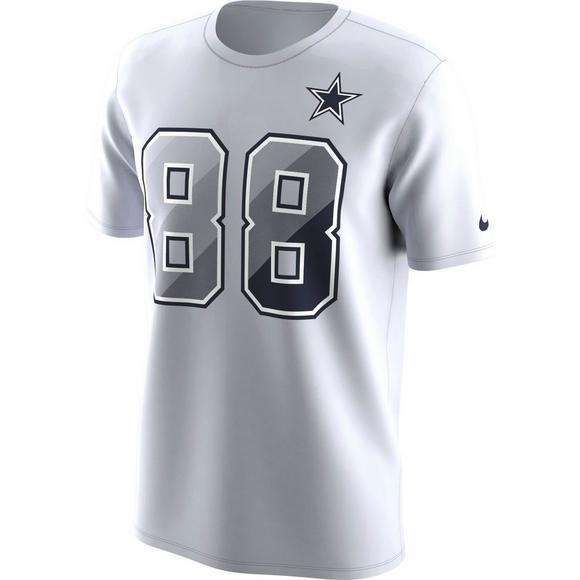 Nike Men S Dallas Cowboys Dez Bryant Prism Name Number T