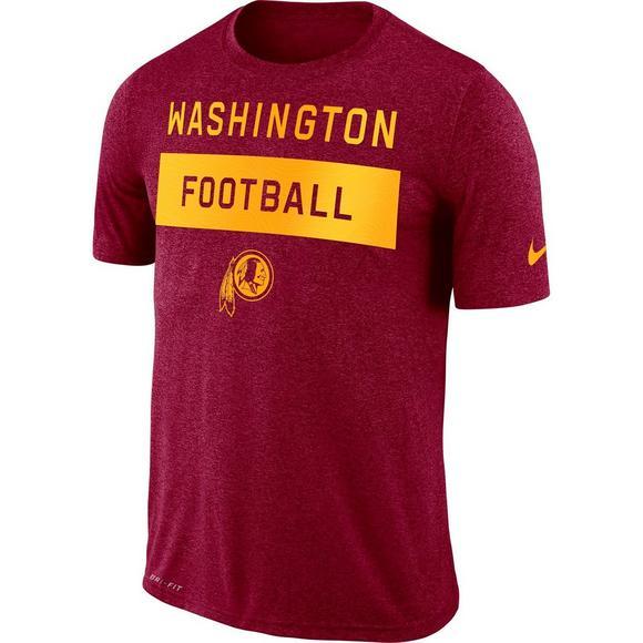 size 40 8759d ff9be Nike Men's Washington Redskins Legend Lift T-Shirt