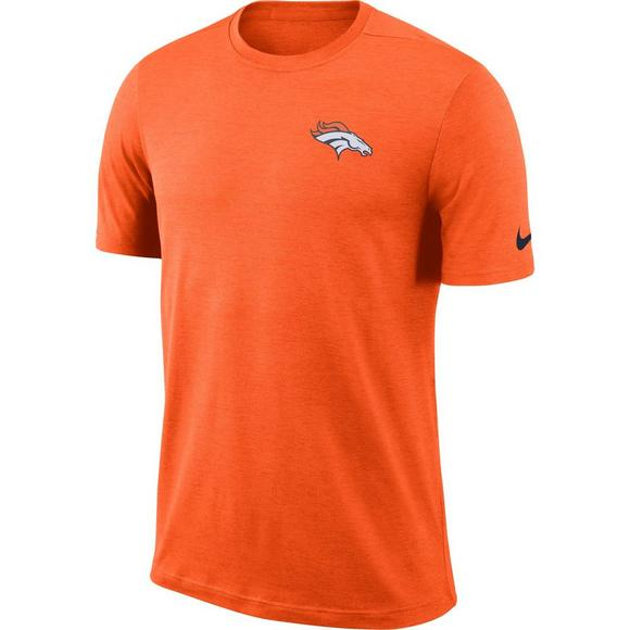 e19e12d65a4 Nike Men's Denver Broncos Dri-Fit Coach Short Sleeve T-Shirt - Main  Container