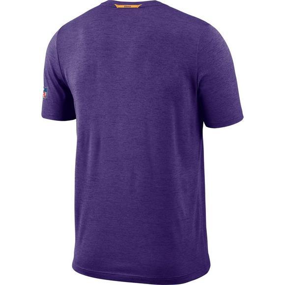 10887aa9 Nike Men's Minnesota Vikings Dri-Fit Coach Short Sleeve T-Shirt - Main  Container