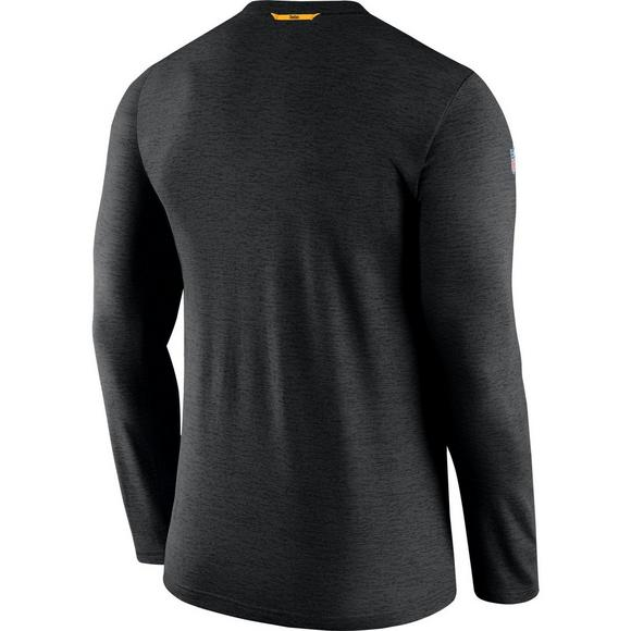 c86ebb14c08 Nike Men's Pittsburgh Steelers Coach Dri-Fit Long Sleeve T-Shirt - Main  Container
