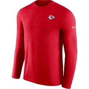 0e7b966fb Sale Price 75.00. No rating value  (0). Nike Men s Kansas City Chiefs  Dri-Fit Long-Sleeve Coach Crew-Neck T-Shirt