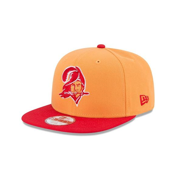 newest 5a7f1 88f42 New Era Tampa Bay Buccaneers 9FIFTY Orange Baycik Snapback Hat