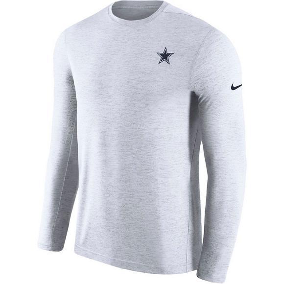9d9deadd Nike Men's Dallas Cowboys Long-Sleeve Coaches Top