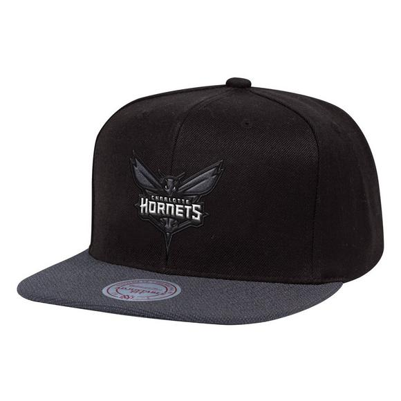 3995f6a23c2610 Mitchell & Ness Charlotte Hornets Full Dollar Snapback Hat - Main Container  Image 1