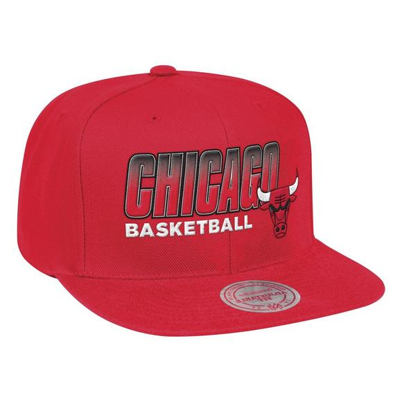 71f802f1823 Mitchell   Ness Chicago Bulls Score Keeper Snapback Hat - Main Container  Image 1
