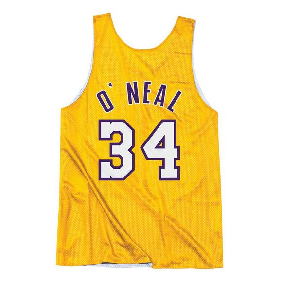 9b1a2a767a3d Mitchell   Ness Men s Shaquille O Neal LA Lakers All Star Practice Jersey -  Main