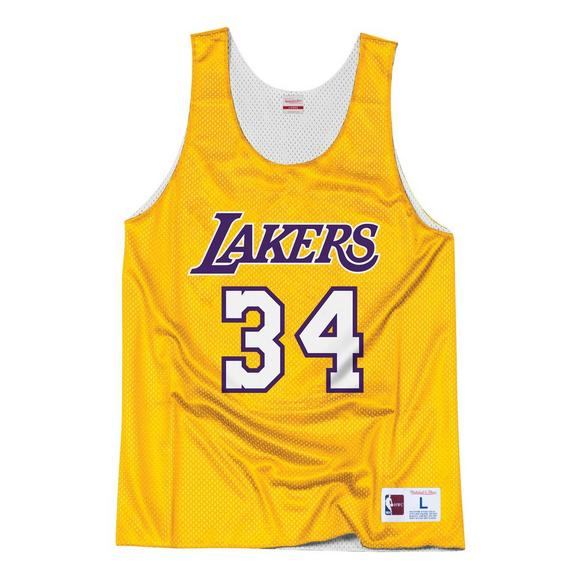 5c80c2e7decb Mitchell   Ness Men s Shaquille O Neal LA Lakers All Star Practice Jersey -  Main