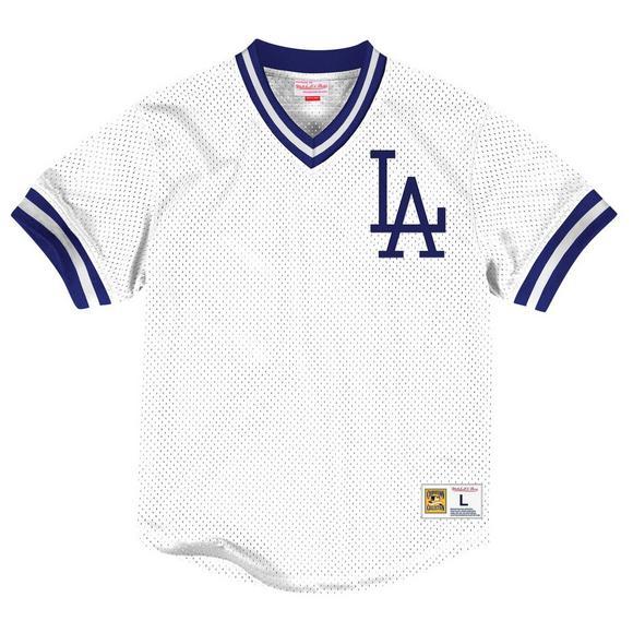 Mitchell & Ness Men's LA Dodgers Classic V-Neck Jersey