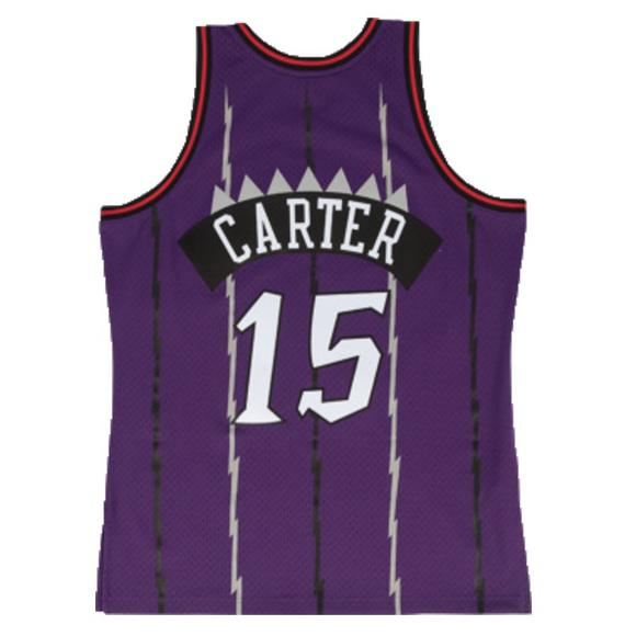 Mitchell   Ness Men s Toronto Raptors Vince Carter Hardwood Classics  Swingman Jersey - Main Container Image c27e8074a