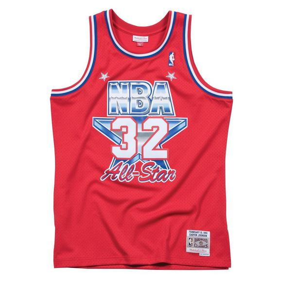 987e03a4239 Mitchell & Ness Magic Johnson All Star Game Swingman Jersey - Main  Container Image 1