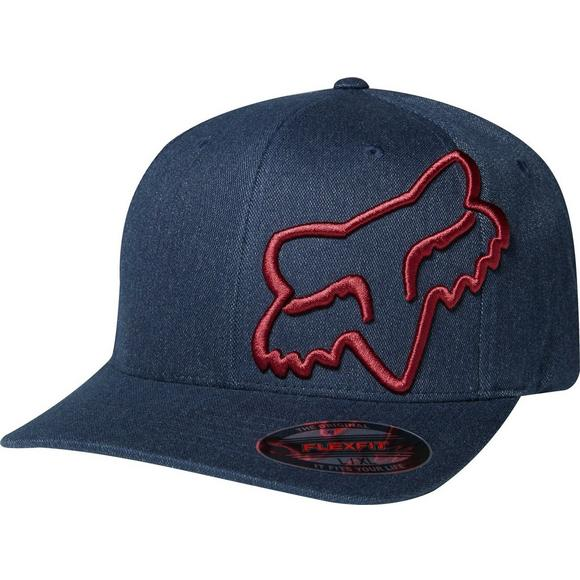 newest 36f99 5ab1e Fox Racing Men s Clouded Flexfit Hat - Main Container Image 1