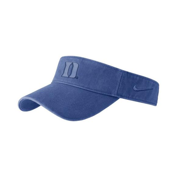bba7aa22514 Nike Duke Blue Devils Pigment Wash Visor Hat - Main Container Image 1
