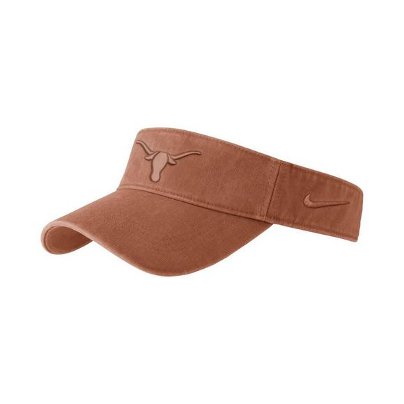 feea0b5d67d Nike Texas Longhorns Pigment Wash Visor Hat - Main Container Image 1