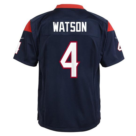62b973f63e8 Nike Youth Deshaun Watson Houston Texans Game Jersey - Main Container Image  2