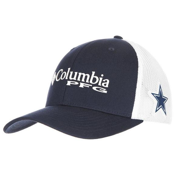 e99f9132b Columbia Dallas Cowboys PFG Mesh Stretch-Fit Hat - Main Container Image 1
