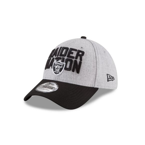 New Era Oakland Raiders On Stage 39THIRTY Stretch Fit Hat - Main Container  Image 1 e86d145727f