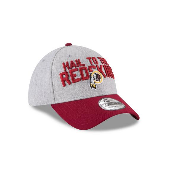 New Era Washington Redskins On Stage 39THIRTY Stretch Fit Hat - Main  Container Image 2 35a30b18567