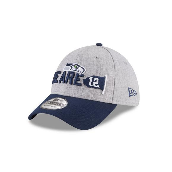 638a91bc2e3bf New Era Seattle Seahawks On Stage 39THIRTY Stretch Fit Hat - Main Container  Image 1