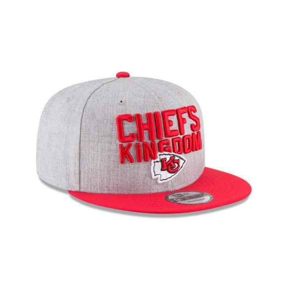 info for 485ea 5724a New Era Kansas City Chiefs 2018 On Stage 9FIFTY Snapback Hat - Main  Container Image 2