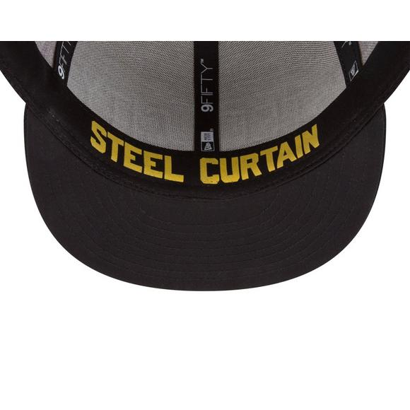 best sneakers 1fe4a 6baae New Era Pittsburgh Steelers 2018 On Stage 9FIFTY Snapback Hat - Main  Container Image 4