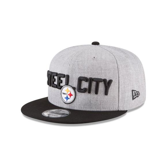 competitive price fa118 7dcc1 New Era Pittsburgh Steelers 2018 On Stage 9FIFTY Snapback Hat - Main  Container Image 1