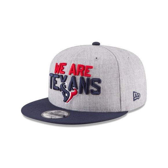 1ff2aec7 New Era Houston Texans 2018 On Stage 9FIFTY Snapback Hat - Hibbett US