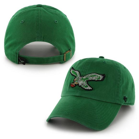 aa0e0060c 47 Brand Philadelphia Eagles Clean Up Hat - Hibbett US