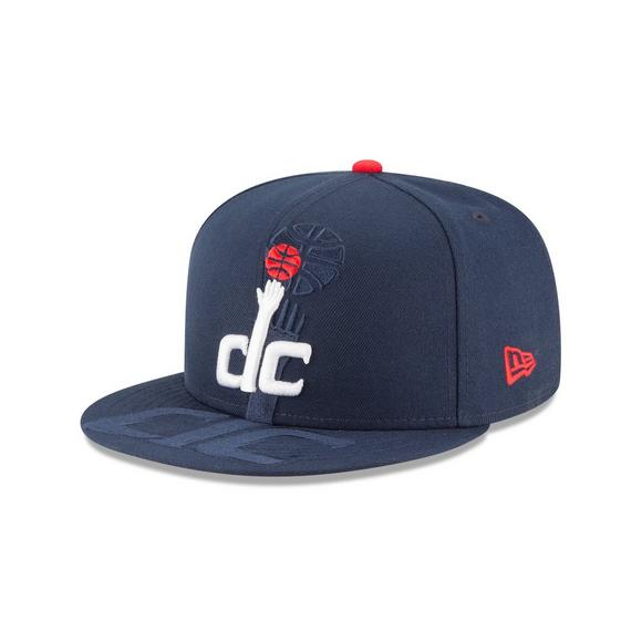10a7c213b New Era Washington Wizards Logo Spill 9FIFTY Snapback Hat - Hibbett US
