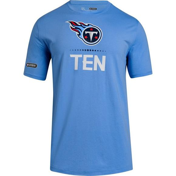 abe188e4d836 Under Armour Men s Tennessee Titans Combine Lockup T-Shirt - Main Container  Image 1