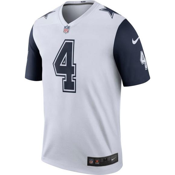 info for da8e8 09663 Nike Youth D. Prescott Dallas Cowboys Color Rush Game Jersey ...
