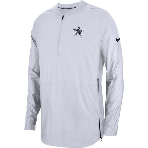 huge selection of 7e4c1 3938a Nike Men's Dallas Cowboys Lockdown Quarter-Zip Jacket ...