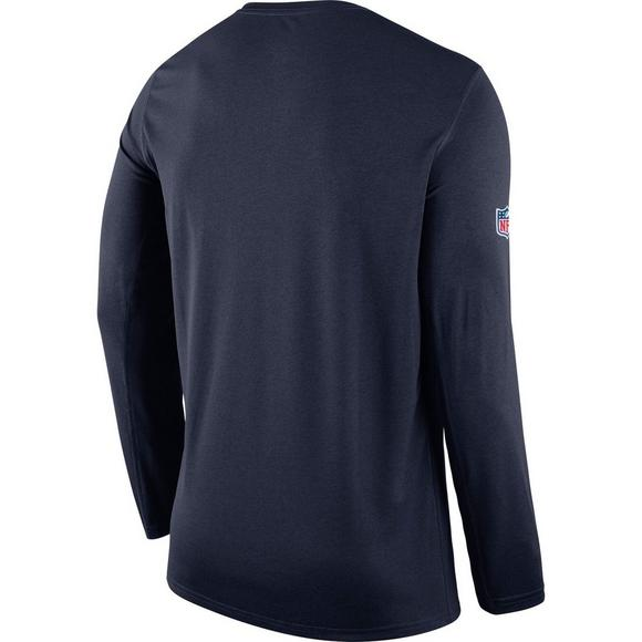 be4b2bbb031 Nike Men s Dallas Cowboys Sideline Long Sleeve T-Shirt - Main Container  Image 2
