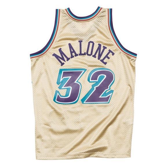 sale retailer b93cc 112d5 Mitchell & Ness Men's Utah Jazz K. Malone 1996-97 Hardwood ...