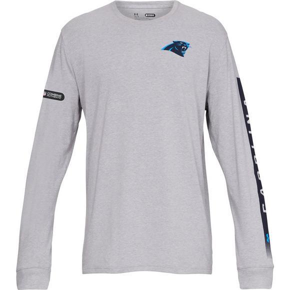 d8ec61e4 Under Armour Men's Carolina Panthers Combine City Long Sleeve T ...