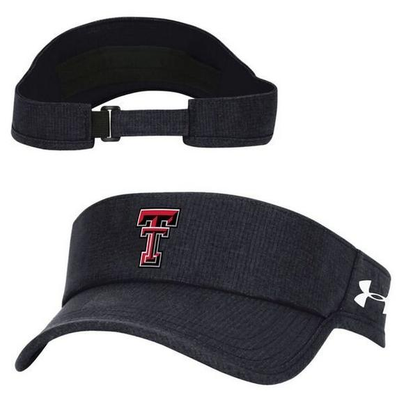 hot sale online 79f24 c7b06 ... real under armour texas tech red raiders air vent visor hat main  container image 1 d613c
