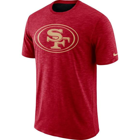 cd48b5b9e Nike Men s San Francisco 49ers Dri-Fit Cotton Slub T-Shirt - Main Container