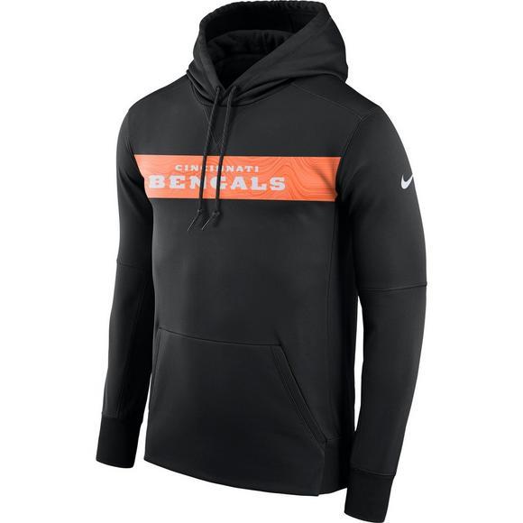 25f2d939 Nike Men's Cincinnati Bengals Therma-Fit Fleece Hoodie