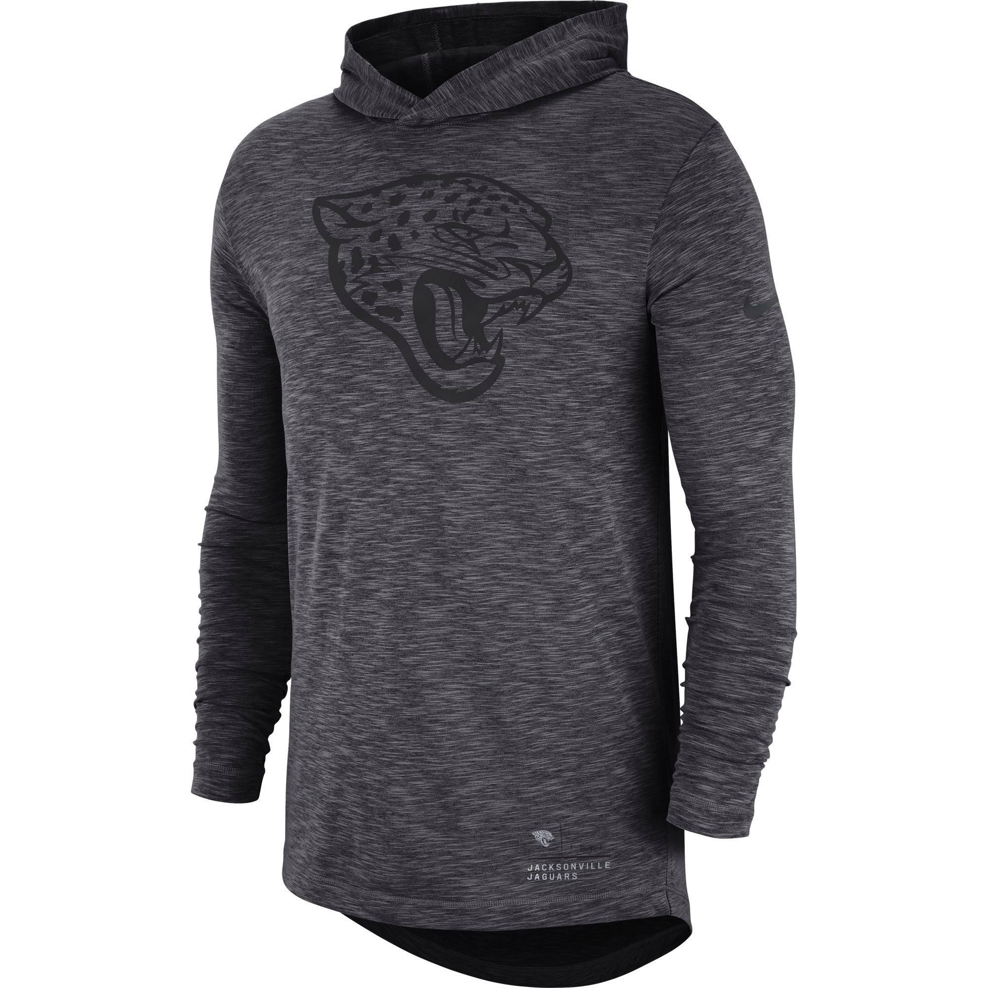Nike Menu0027s Jacksonville Jaguars Long Sleeve Hoodie T Shirt