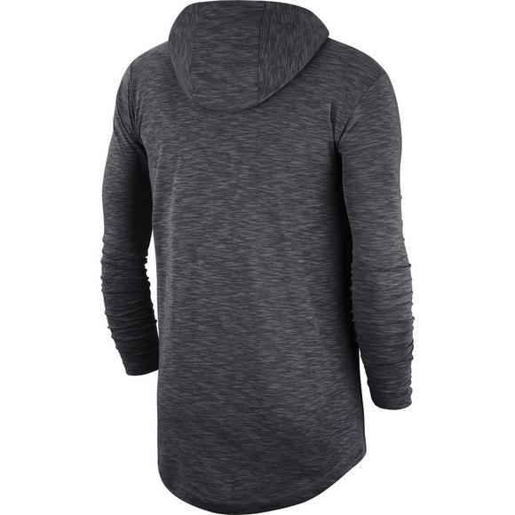 pick up 9383e 559a9 Nike Men's Carolina Panthers Dri-Fit Slub Hoodie T-Shirt