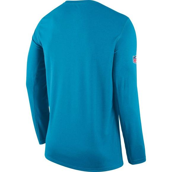 bca10c089 Nike Men's Carolina Panthers Dri-Fit Legend Seismic Long Sleeve T-Shirt -  Main