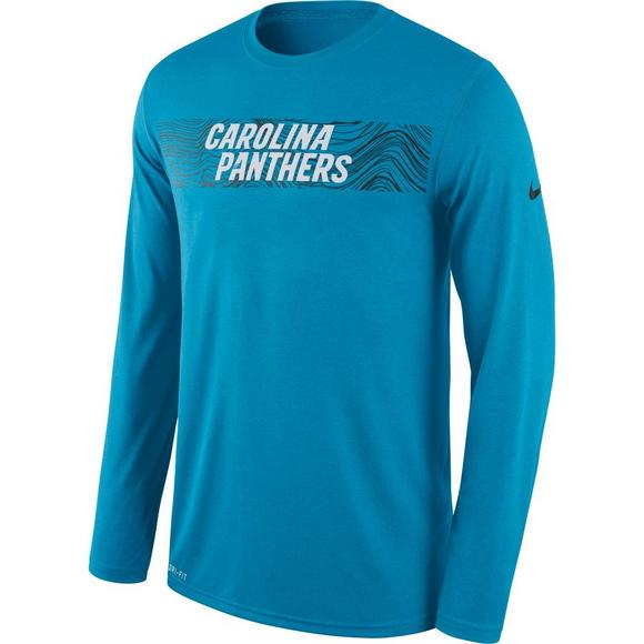 Nike Men s Carolina Panthers Dri-Fit Legend Seismic Long Sleeve T-Shirt -  Main 3f3a87e88