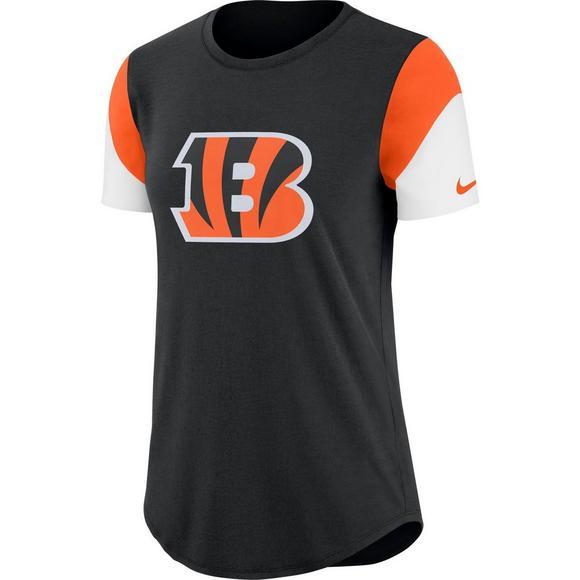 4106775dc Nike Women s Cincinnati Bengals Tri-Blend Team T-Shirt - Main Container  Image 1