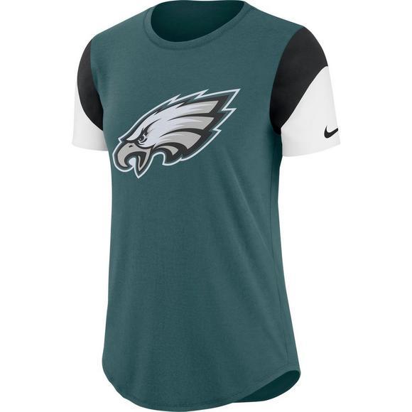 on sale d53c1 9248a Nike Women's Philadelphia Eagles Tri-Blend Team T-Shirt ...